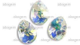 6128 Crystal AB 8 mm