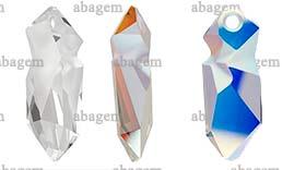 6913 Kaputt Pendant Crystal AB 28 mm
