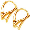 Hanging Hook 18 mm Gold Bathroom