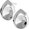 Boucles d oreilles argent pour Rivolis ref.1122 SS39-8 mm