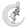 Pendant Moon with stars