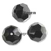 Outlet Swarovski  bolas 6 mm Negras