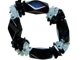 Bracelet Agate et Cristal de Roche