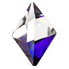 Swarovski 4929 Tltet Spike Bermuda Blue-Cal 14,0 x 10,5 mm