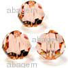 Swarovski bolas 4 mm Light Peach