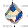 Swarovski 5058 Baroque Bead Crystal AB