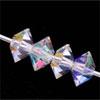 Swarovski 5305 Tupis achatados 5 mm Crystal AB