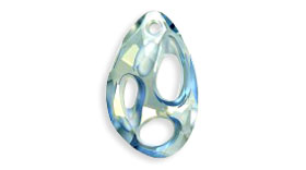 Swarovski 6730 Blue Shade 34 mm