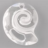 Swarovski Sea Snail Pendant Crystal 28 mm