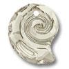 Swarovski 6731 Sea Snail Pendant Silver Shade