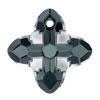 Swarovski 6868 Cross Tribe Graphite Light Chrome