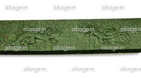 10 x 2 mm Relieve Verde