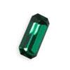Vintage Swarovski Baguette  10x 3 mm  Emerald