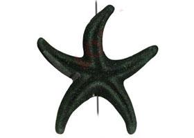 Colgante de Lava Etna Estrella Marina
