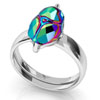 Silver Ring for scarab 5728 of Swarovski