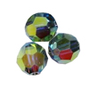 Swarovski bolas 4 mm Siam AB FC